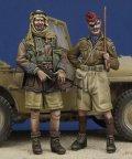 The Bodi[TBO35165]1/35 WW.II 長距離砂漠挺身隊 & ロイヤル・ハッサーズ 将校