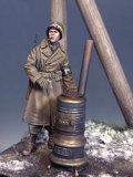 The Bodi[TBO35170]1/35 WW.II 米陸軍 憲兵w/薪ストーブ 「アルデンヌ 1944年」