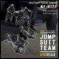 トリファクトリー[MF-17B]1/72 現用 HALO降下するジャンプスーツチーム(5体入)