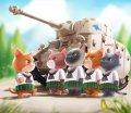 トリファクトリー[ATN-003]ノンスケール ドイツ ジャーニャン戦車隊 子猫小隊「閲兵式」