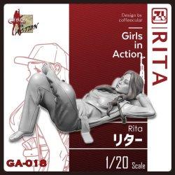 画像1: ジルプラ[GA-018]1/20 リタ