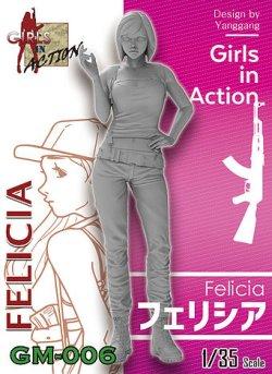 画像1: ジルプラ[GM-006]1/35 フェリシア