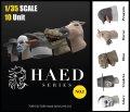トリファクトリー[HD-01]1/35 ヘッドシリーズ-1 仮装仮面セット(10個入)