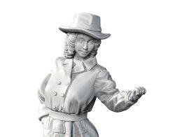 画像2: トリファクトリー[MF-09]1/35 WWII 仏 パリの若き婦人