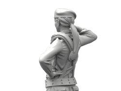 画像2: トリファクトリー[MF-01]1/35   現用  台湾陸軍女性兵士2体セット