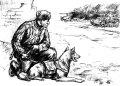 ズベズダ[ZV3611] 1/35 ソビエトタンクハンターフィギュア&地雷犬