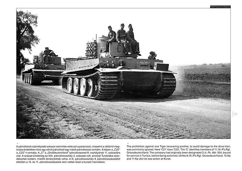 PeKo Publishing[PKO-2362]World War Two Photobook Series No. 7 Tiger I on the Battlefield