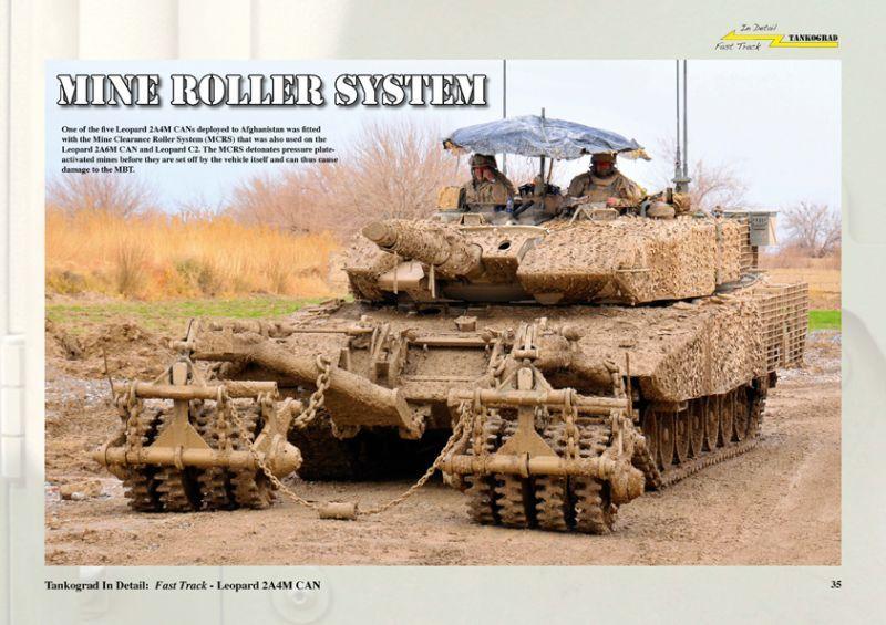 Tankograd[TG-FT17]レオパルト2A4M CAN ディティール写真集